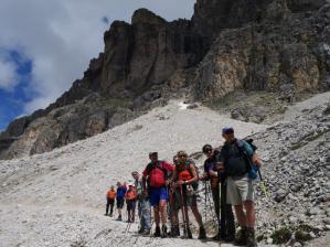 Großer Walserweg als Ziel für Wandergruppen.