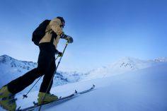 Am Pitztaler Gletscher gibt es einen Skitourenpark.