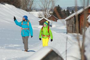 Rund um Pfronten sind die Winterwanderwege gut.