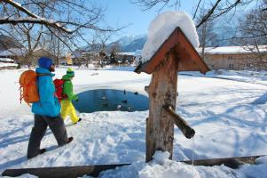 Die große Talwanderung hat schöne Winterwanderwege.